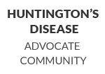 Huntington's Disease Advocate Community