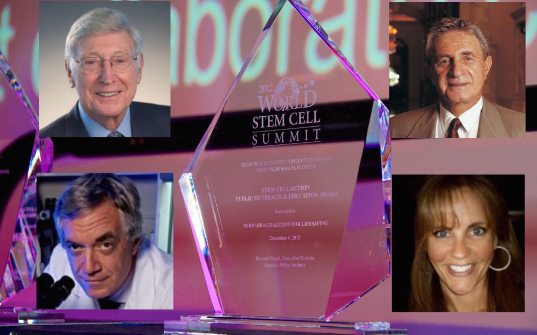 Honorees announced! 2016 Stem Cell Action Awards